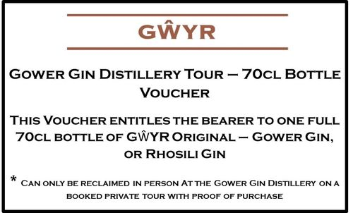 Distillery Tour 70cl Bottle Voucher